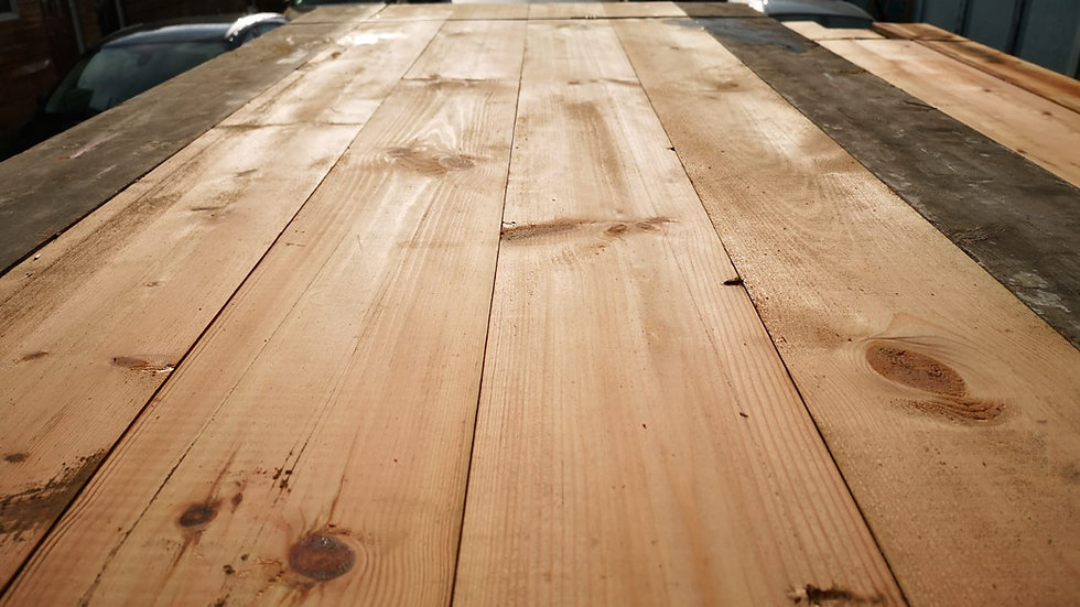 """8"""" READY TO LAY FLOORBOARDS"""