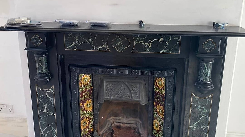 Fire Place with marble surround