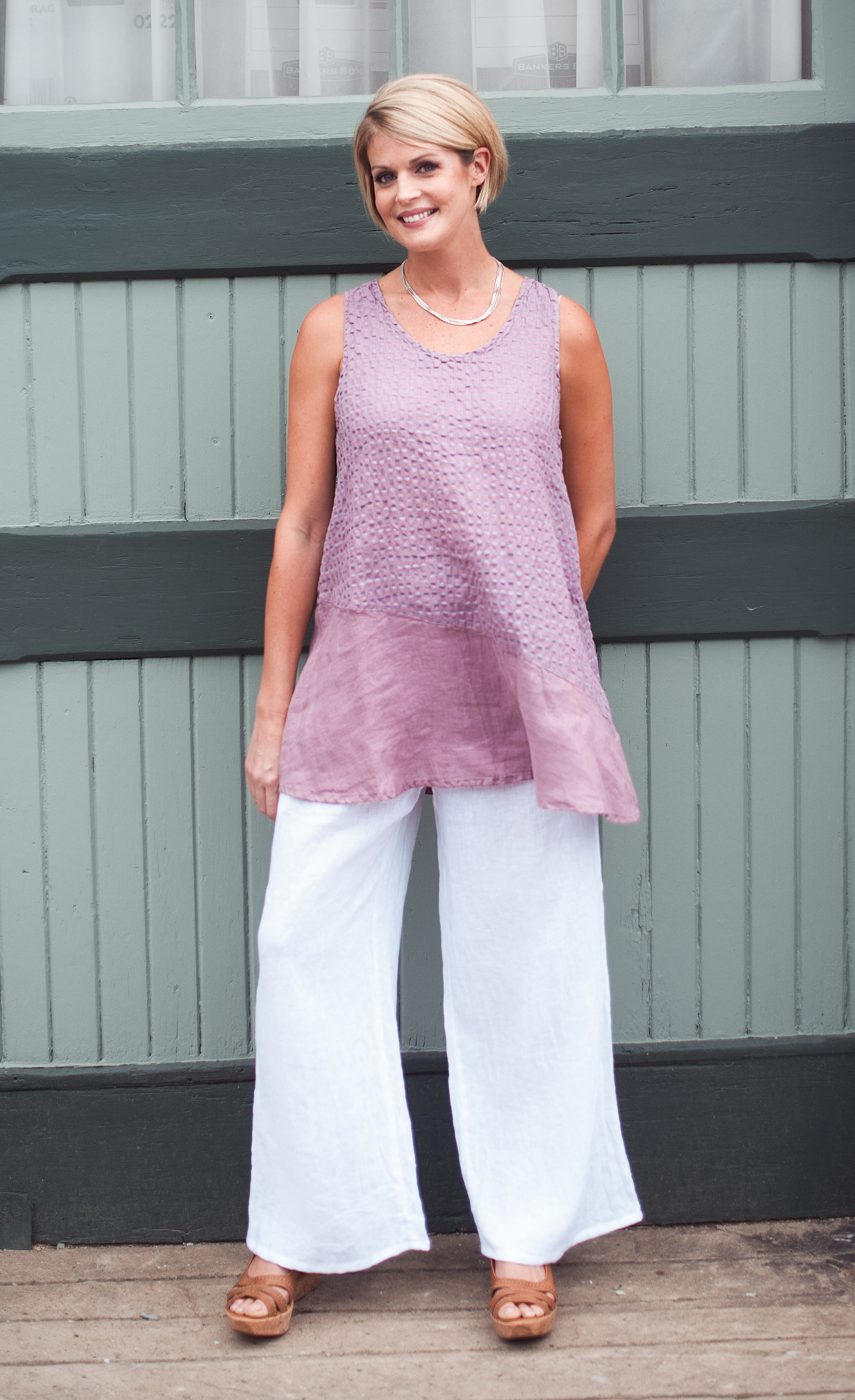 Hampton Bays Tunic & Martinique Pant
