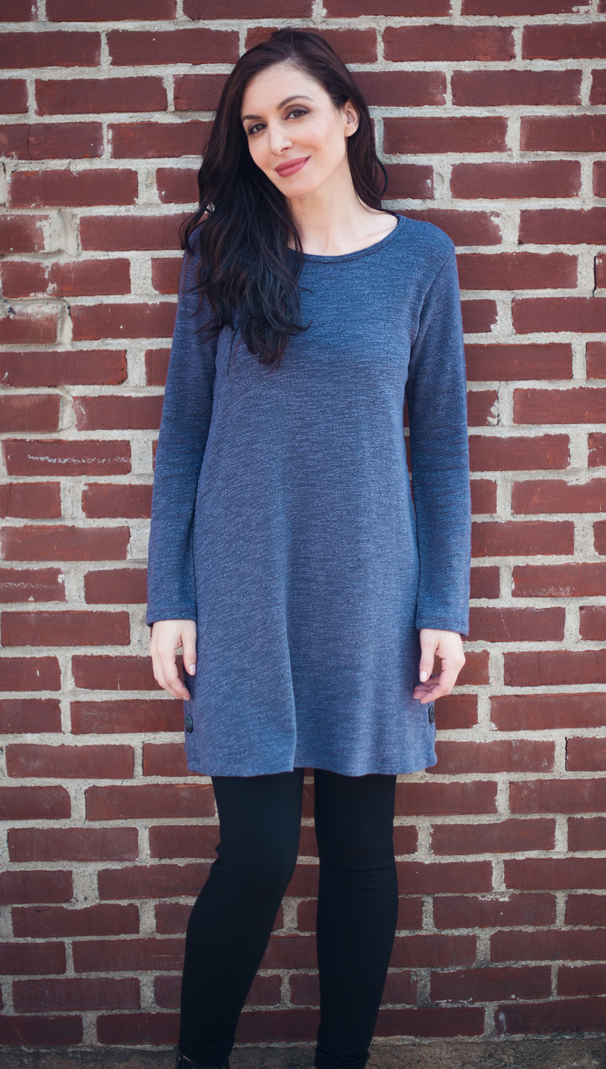 Melange Tunic Dress