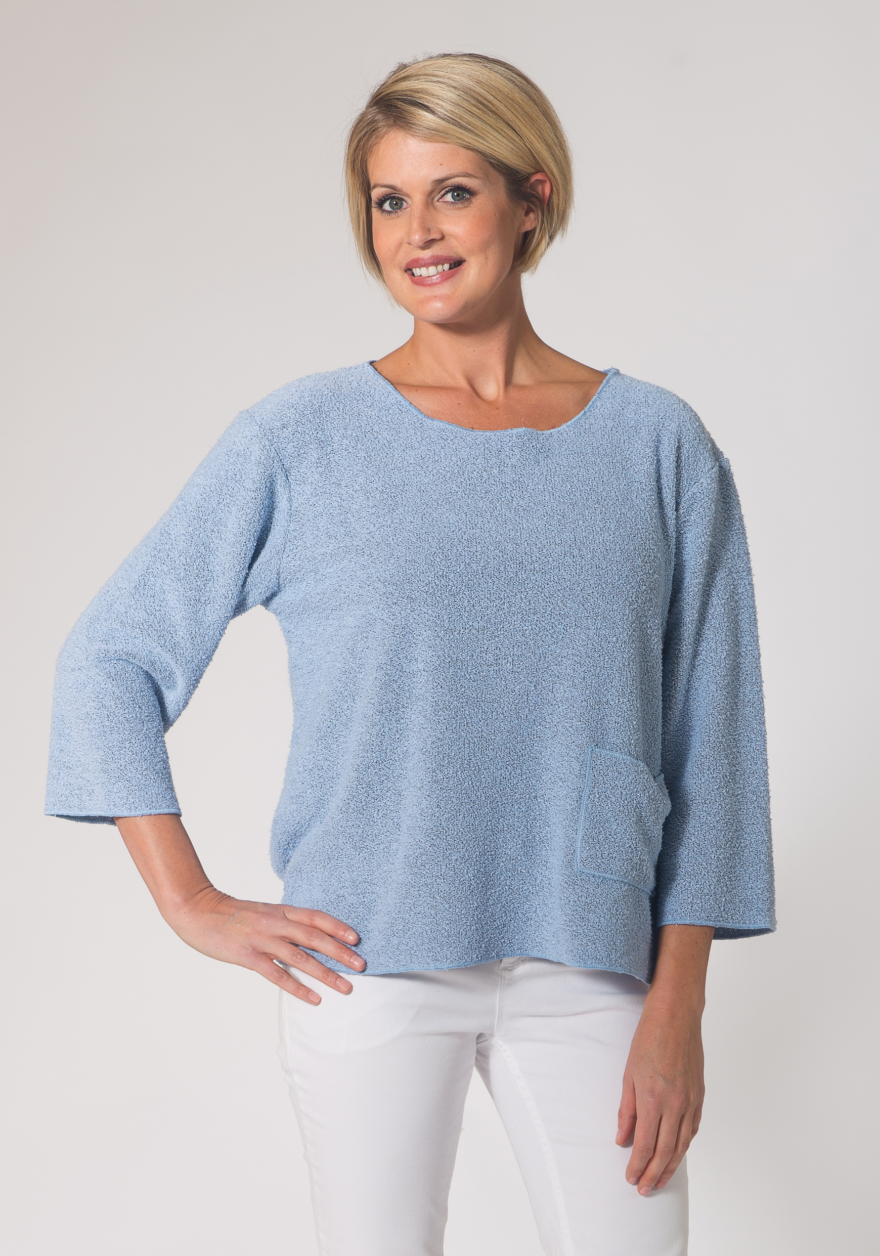 Boxy Terry Top