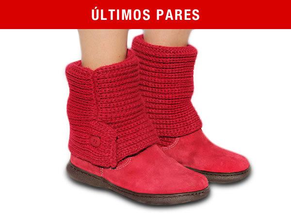 Bota de Trico Vermelha Rubi - Tricot Boots d3ce49759c1e5