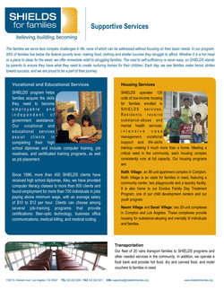 Support Services (One Pager)