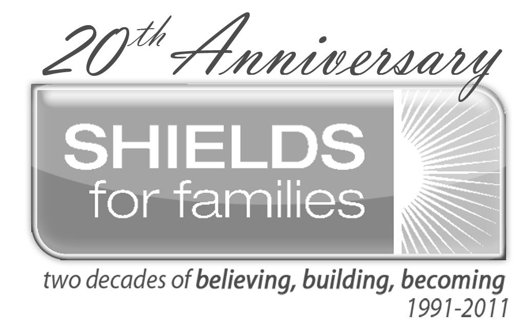 SHIELDS for Families 20th Anniv Logo