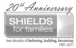 SHIELDS for Families 20th Anniv Logo