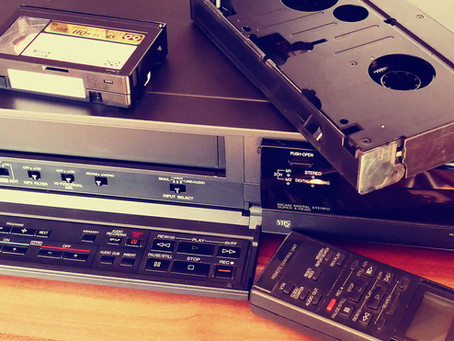 Showing Some TLC for the VCR