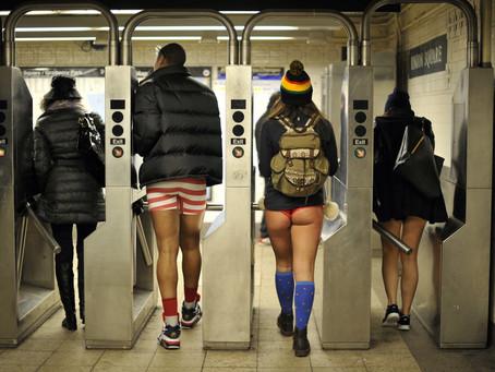 The Anatomy of Freedom: Breeze's No Pants Subway Ride