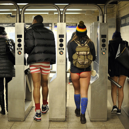 The Anatomy of Freedom: Breeze's No Pants Subway Ride