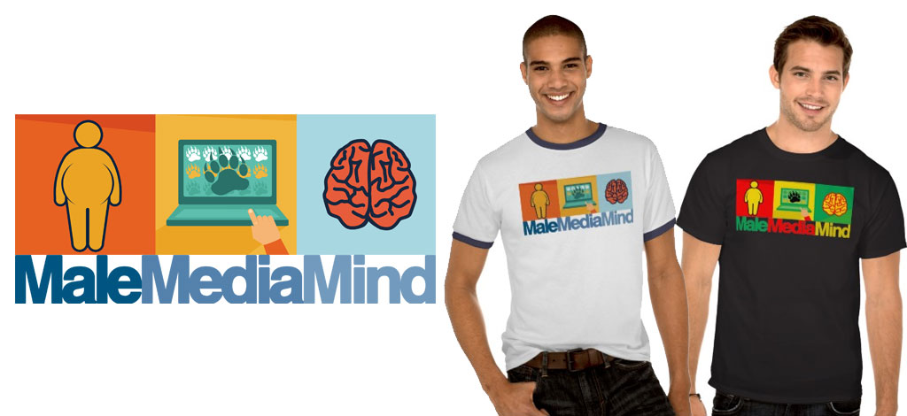 "Male Media Mind ""3 Block"" Design"