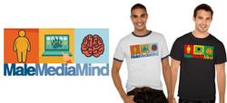 "Male Media Mind ""3 Block"" Design"