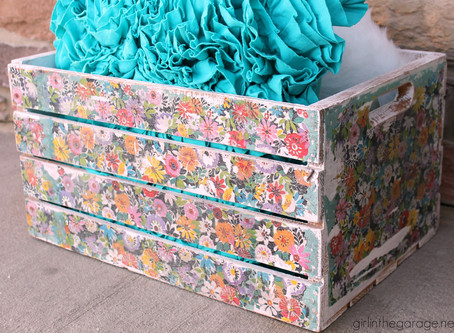 Decoupage: Crates and Things