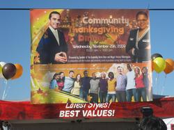 Community Thanksgiving Dinner Banner