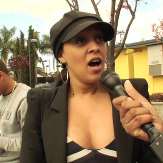 Tia Mowry exclusive interview at Challengers Boys & Girls Club