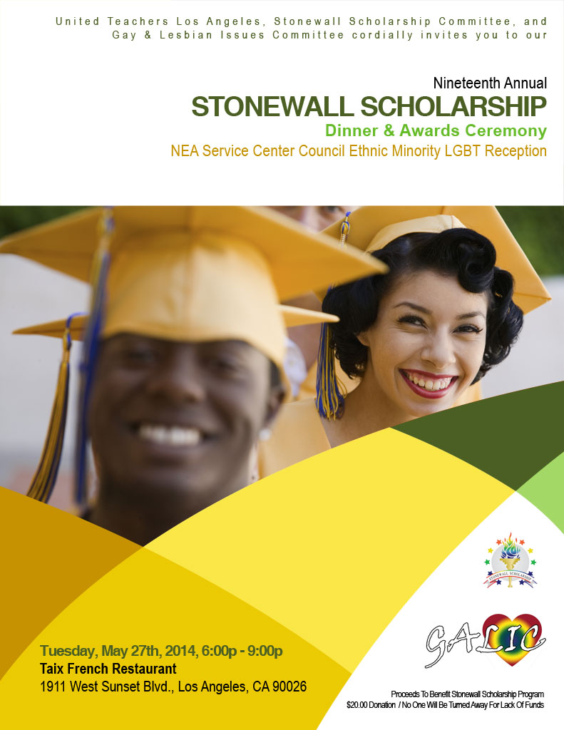 Stonewall Scholarship Program Cover
