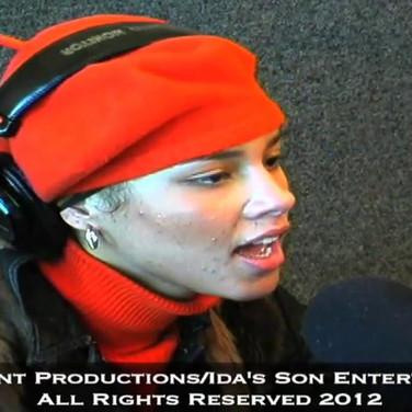 Alicia Keys Singing to Big Boy