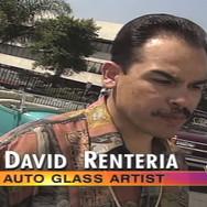 Glass Artist & Metal Engraver - David Renteria- The Picasso