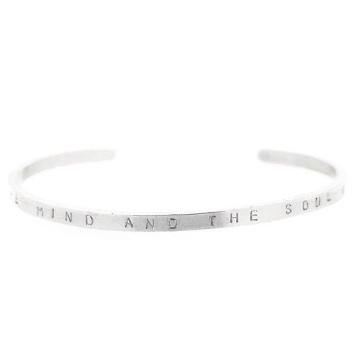 Thin Personalised Cuff