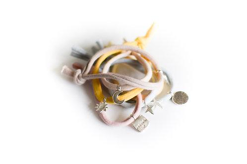 Wrist Tie with Charm