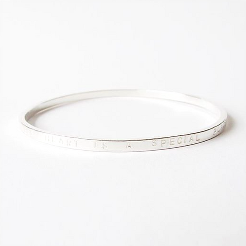 Thicker Personalised Bangle