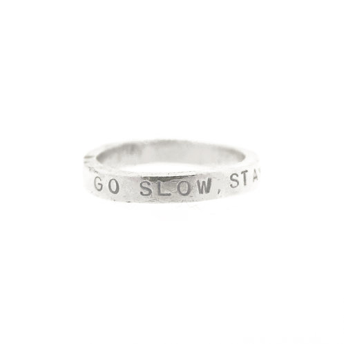Thin Personalised Ring