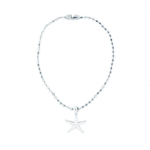 Starfish Ball Chain Bracelet