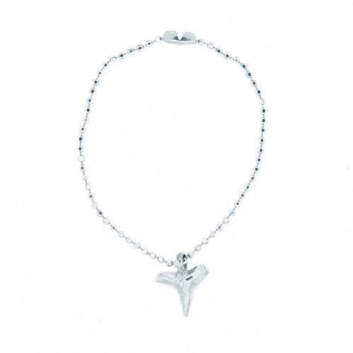 Shark Tooth Ball Chain Bracelet