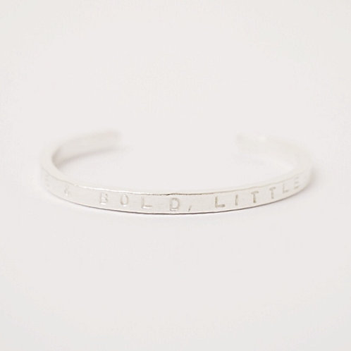 Thin Personalised Cuff from