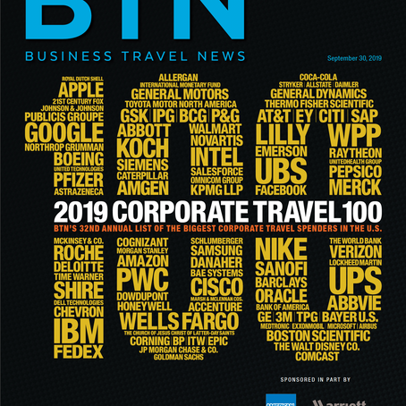 EmpireCLS: Sponsors the BTN 100 (32nd Annual list of the Top Corporate Travel Spenders in the U.S.)