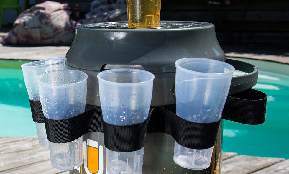 BeerUp Pack 20 glasses (1 belt + 1 FREE filling kit)