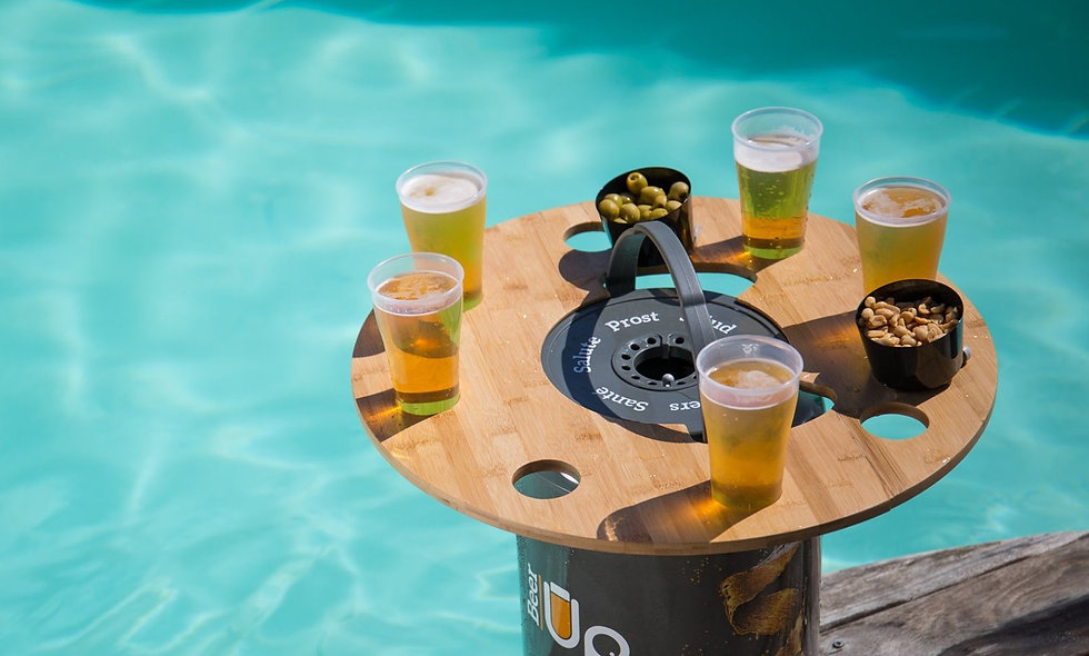 Beer Up glass tray