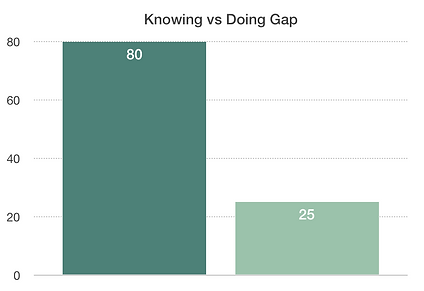 Knowing vs Doing Gap 21st Century Leader