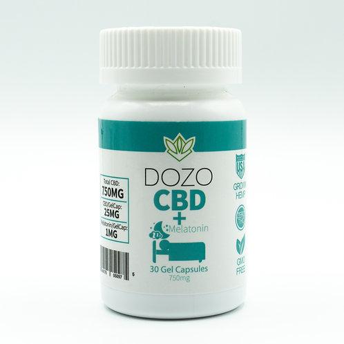 CBD plus Melatonin Gelcaps