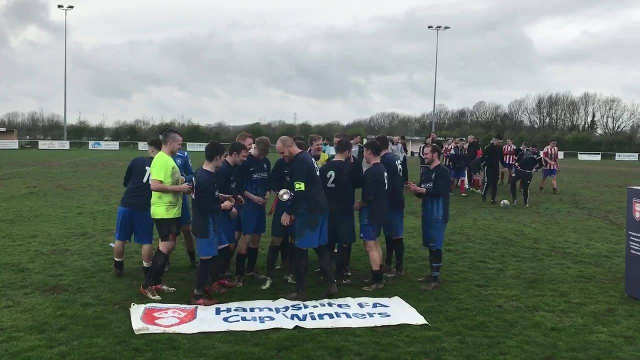 Men's Hampshire Cup Winners 2019