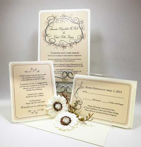 Wedding Inviation Set