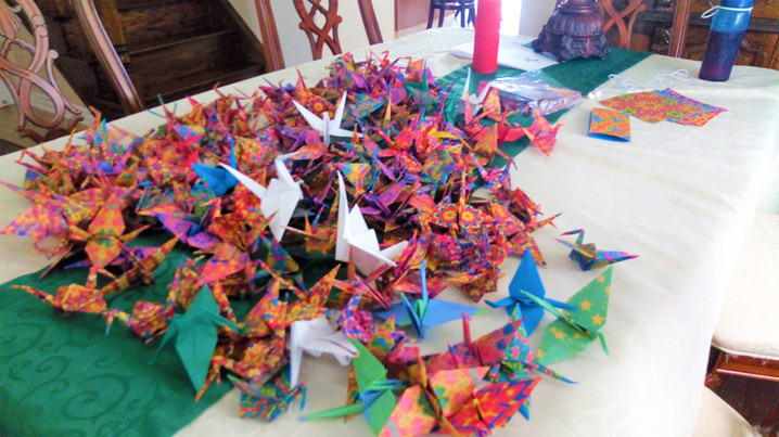Cranes by Sybonae