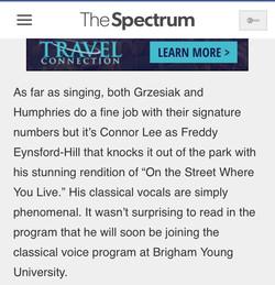Connor Lee's Spectrum Review