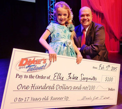 Ellie Felice with Del Beatty
