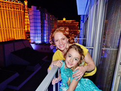 Lisa and EF at AGT in Vegas