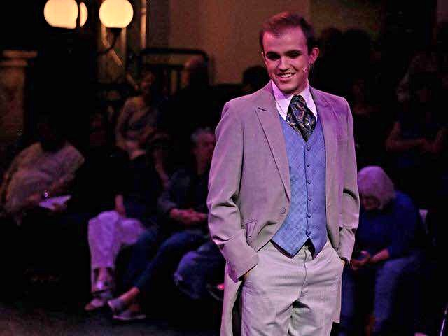 Conner Lee as Freddy in My Fair Lady