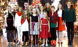 Studio Christmas Photo 2015