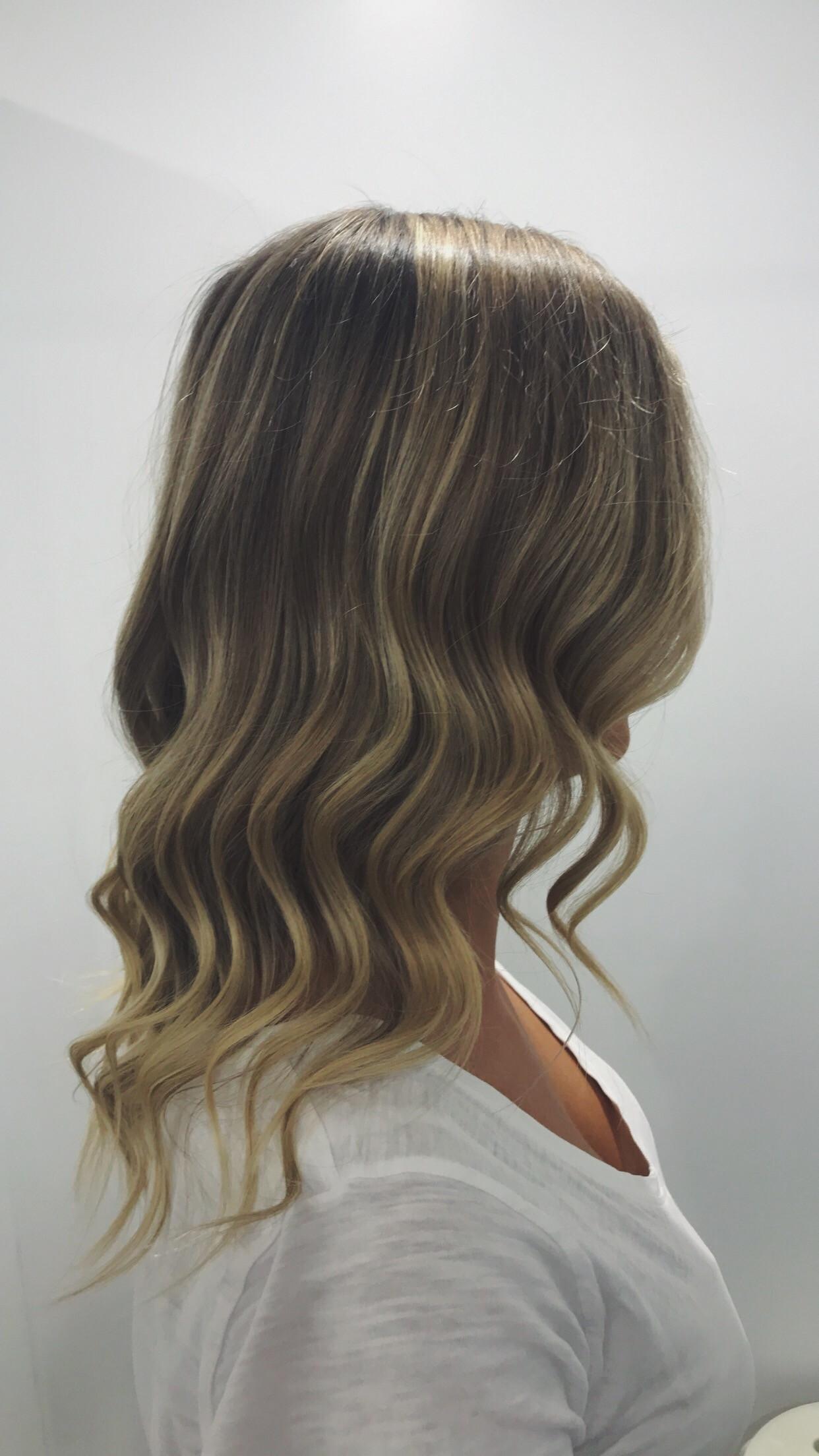 Short/Medium Hair Styling Down Style