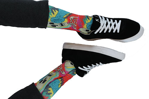 SP FIST TO FACE SOCKS