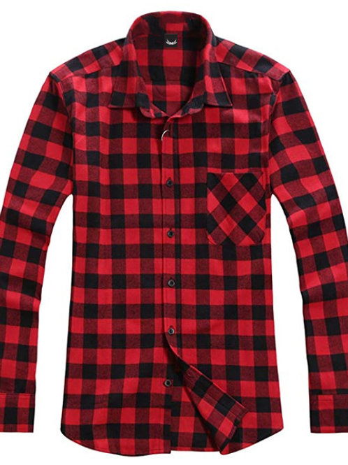 SP FLANNEL RED