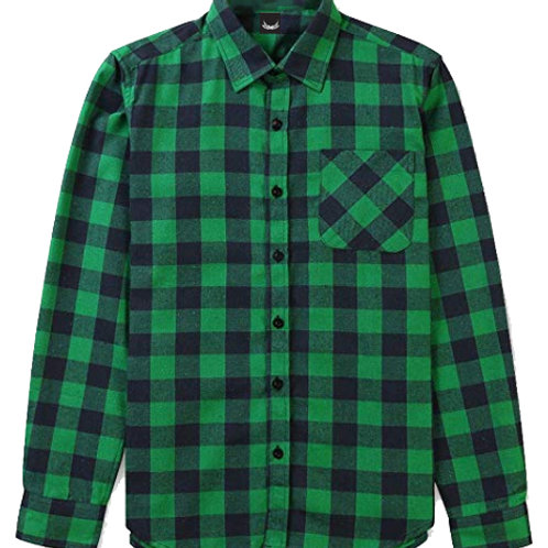 SP FLANNEL GREEN