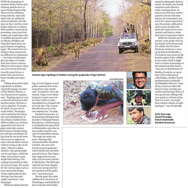 Indian Express March 15, 2015