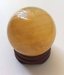 Citrine Goddess Sphere