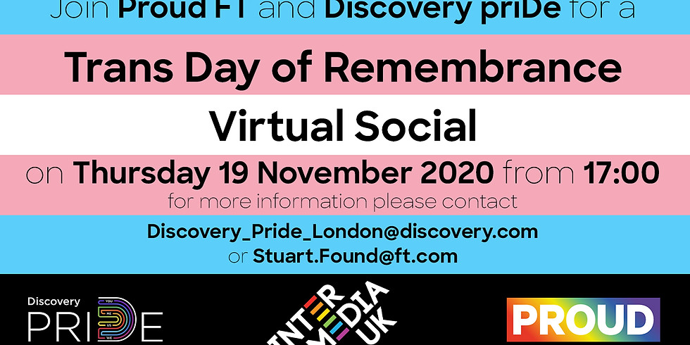 Trans Day of Remembrance Virtual Social