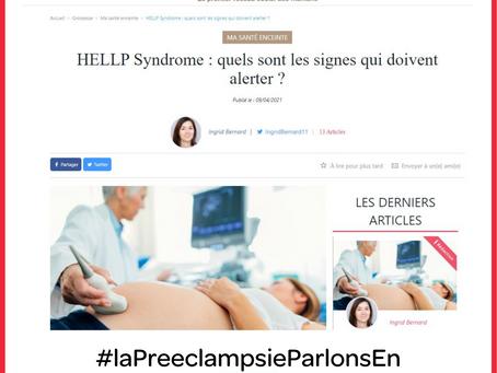 """Article Parole de Mamans : """"HELLP Syndrome : quels sont les signes qui doivent alerter ?"""""""