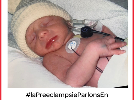 Témoignage sur la prééclampsie avec HELLP syndrom (grossesse d'après) - (Amandine)