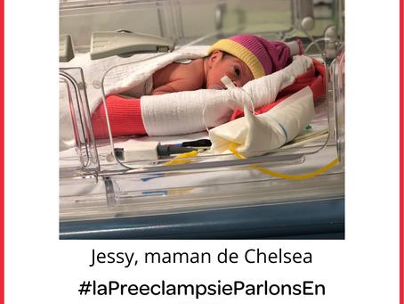 Complication de pré-éclampsie : l'éclampsie (Jessy)